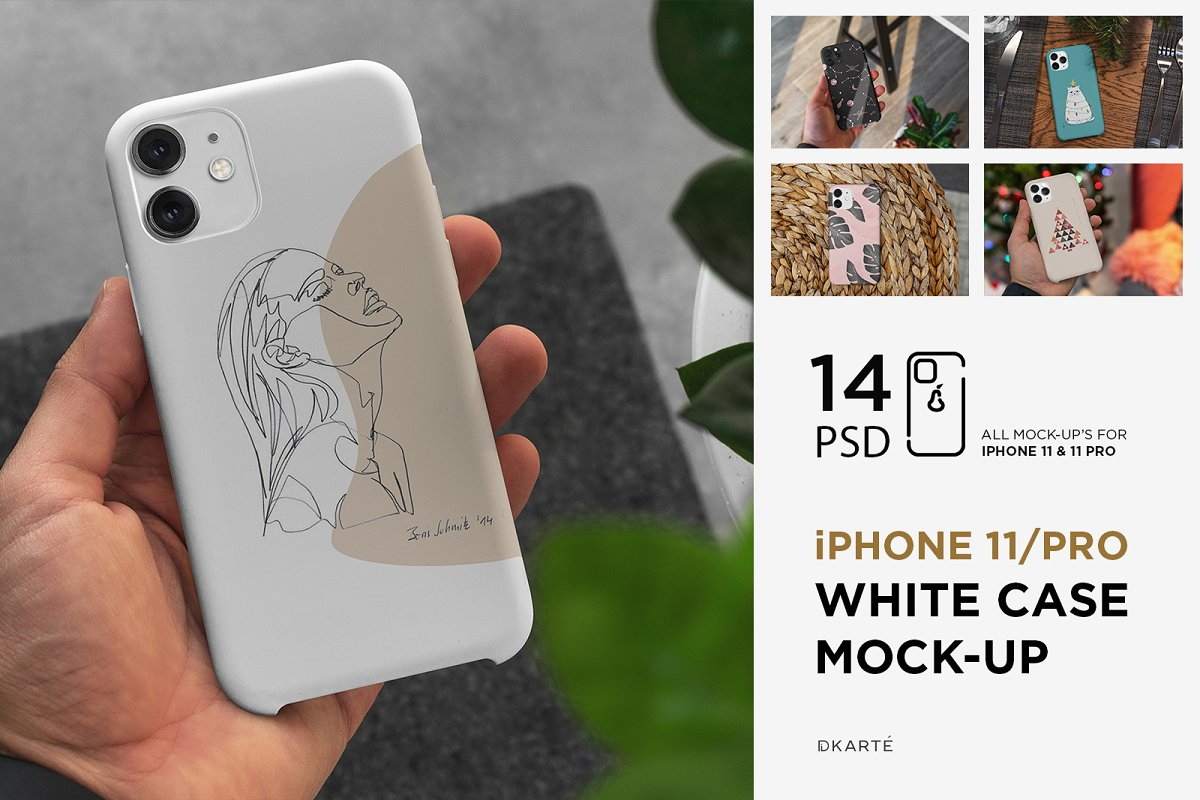 Mock-Up Casing iPhone 11